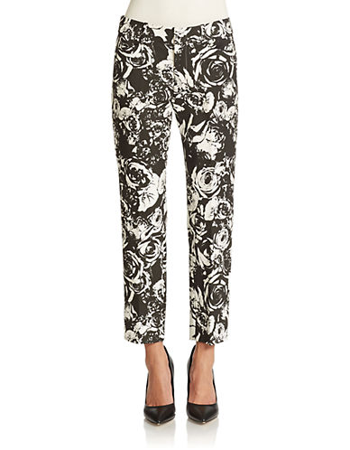 Lord & Taylor Printed Kelly Ankle Pants