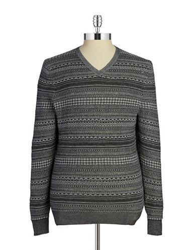 Fair Isle Knit Pullover $19.99 AT vintagedancer.com