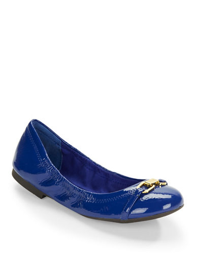 Buy Betsy Patent Leather Ballet Flats by Lauren Ralph Lauren online