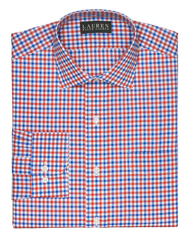 LAUREN RALPH LAUREN Classic-Fit Checked Warren Dress Shirt