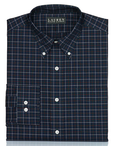 LAUREN RALPH LAUREN Classic Fit Tartan Dress Shirt