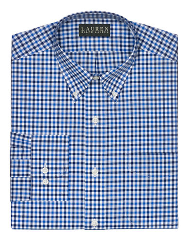 LAUREN RALPH LAUREN Slim-Fit Checked Dress Shirt