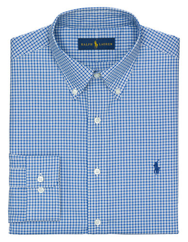 POLO RALPH LAURENRegular Fit Checked Dress Shirt