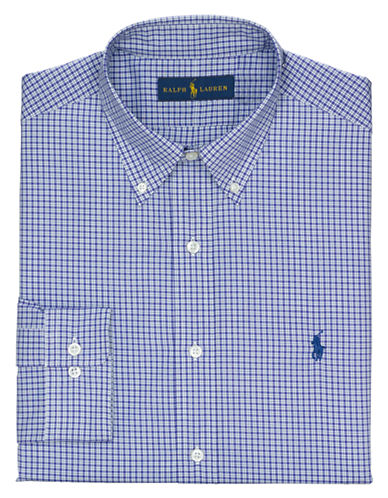 POLO RALPH LAUREN Regular Fit Checked Dress Shirt