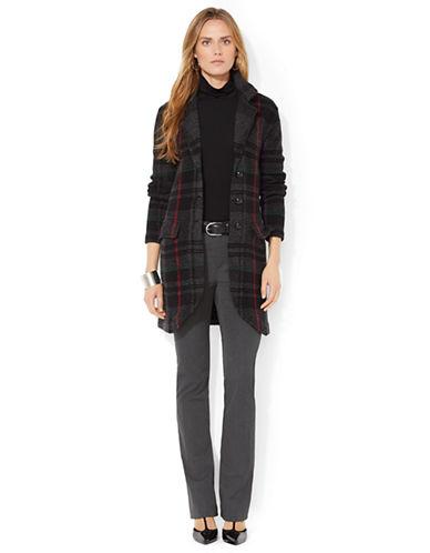 LAUREN RALPH LAURENPlaid Sweater Coat
