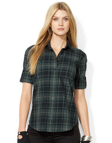 LAUREN RALPH LAURENPlaid Button Down Shirt