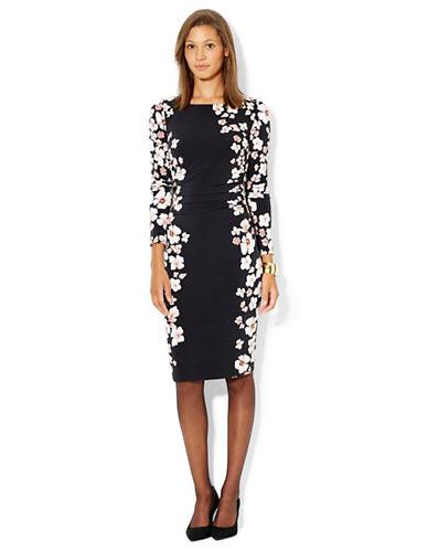 LAUREN RALPH LAURENFloral Print Jersey Dress