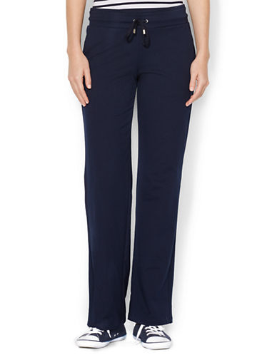 LAUREN RALPH LAURENPlus Knit Cotton-Blend Pants