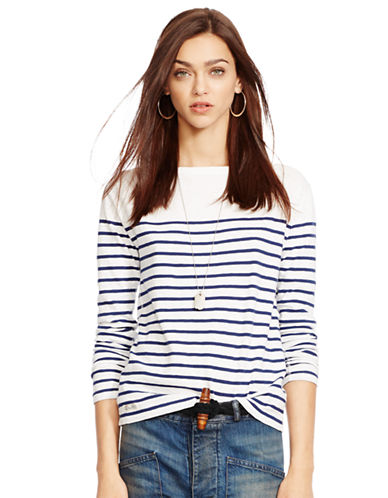 POLO RALPH LAUREN Striped Slim-Fit Tee