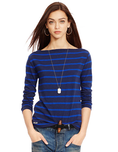 POLO RALPH LAUREN Wide-Striped Slim-Fit Tee