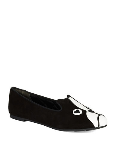 MARC BY MARC JACOBS Suede Puppy Love Flats