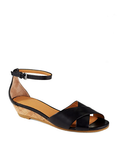 MARC BY MARC JACOBS Open Toe Demi-Wedge Sandals