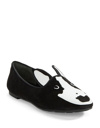 MARC BY MARC JACOBSNeville Suede and Leather Loafer