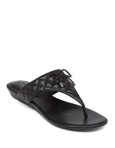 BCBGENERATION Alice Quilted Thong Sandals