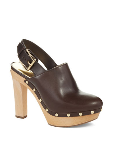 Michael Michael Kors Beatrice Leather Mules