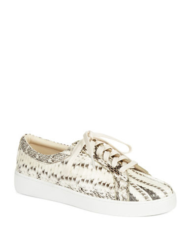 Buy Valin Runway Snake Skin Sneakers by Michael Kors Collection online