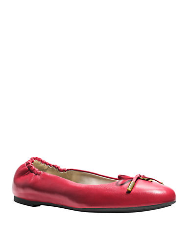 MICHAEL MICHAEL KORS Melody Leather Ballet Flats