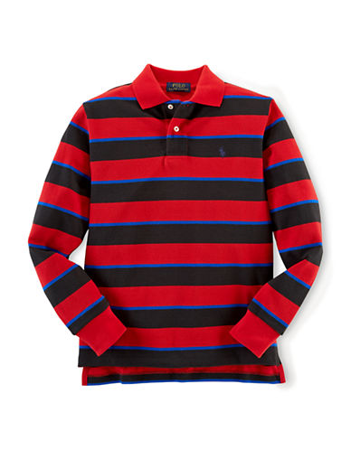 RALPH LAUREN CHILDRENSWEARBoys 8-20 Striped Polo Shirt