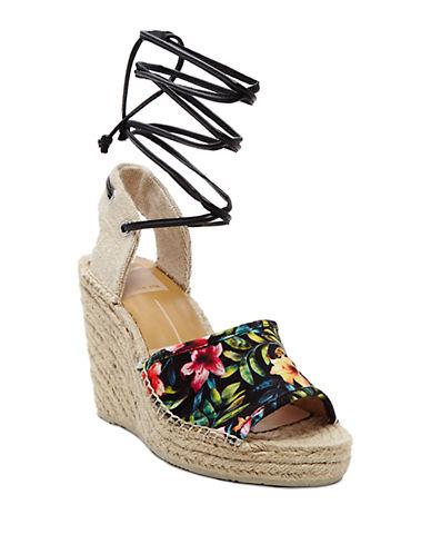 DOLCE VITASophia Floral Espadrille Wedge Sandals