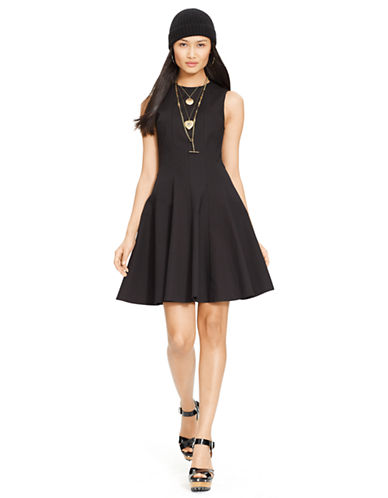POLO RALPH LAURENFit and Flare Cotton Dress