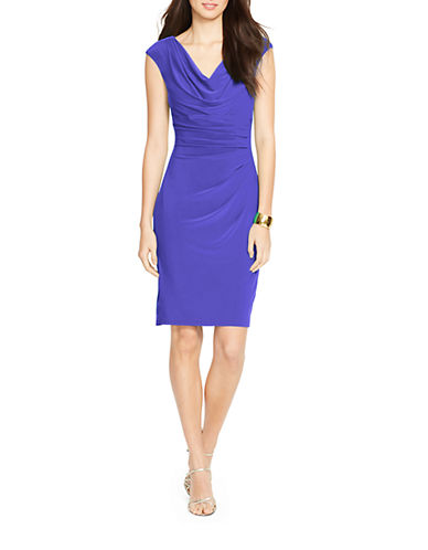 Plus Cowlneck Jersey Dress