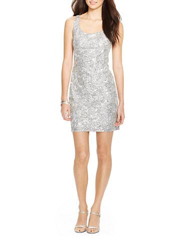 LAUREN RALPH LAURENSequined Scoopneck Dress