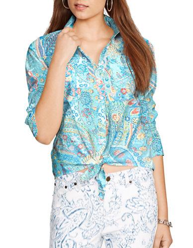 LAUREN RALPH LAURENPetite Paisley Shirt