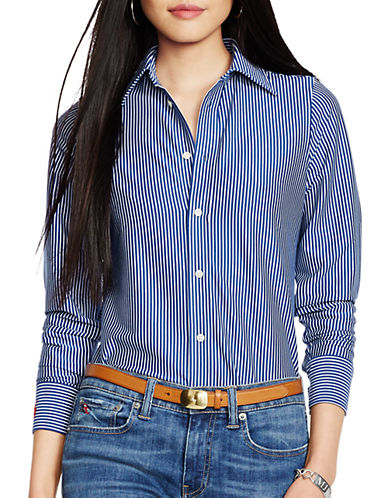 POLO RALPH LAUREN Striped Knit Cotton Shirt