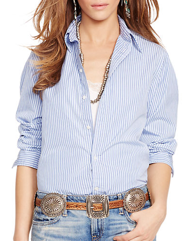 POLO RALPH LAURENRelaxed-Fit Striped Shirt