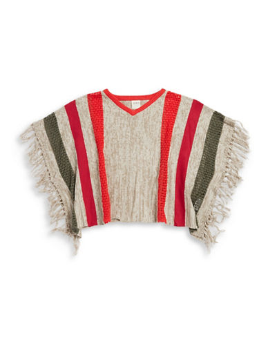 roxy female 186518 girls 716 knit poncho