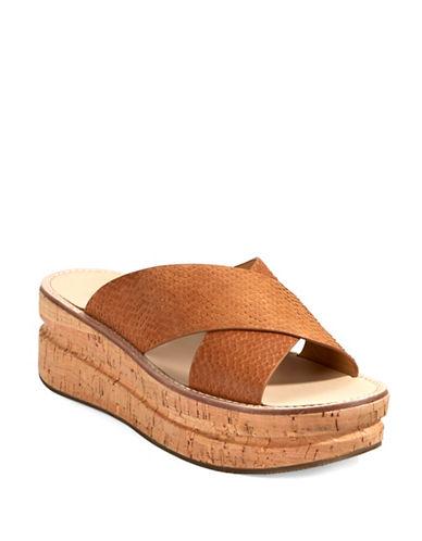 BELLE BY SIGERSON MORRISONMalmas Leather Platform Sandals