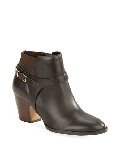 Buy Tasse Leather Booties by Ivanka Trump online