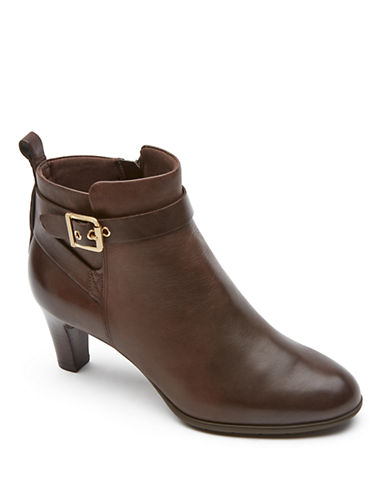 ROCKPORTMelora Leather Ankle Boots