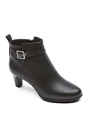 Rockport Melora Leather Ankle Boots