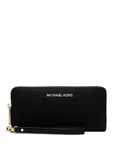 ef3642bfb86f0 UPC 889154038608. ZOOM. UPC 889154038608 has following Product Name  Variations  Michael Kors Black Saffiano Leather Jet Set Travel Continental  Wallet ...