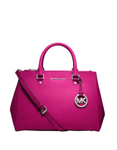 Michael Michael Kors Sutton Leather Satchel Bag