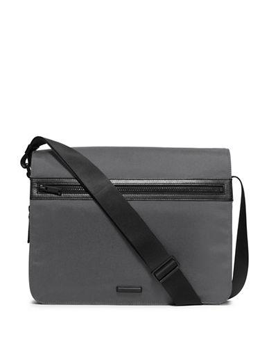 michael kors male nylon leather messenger bag