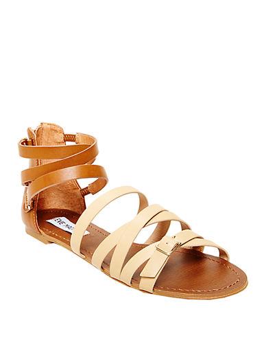 STEVE MADDENWorldly Faux Leather Sandals