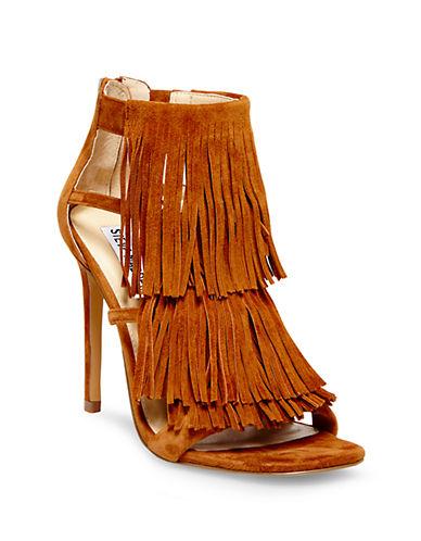 STEVE MADDENFringly Suede High-Heel Sandals