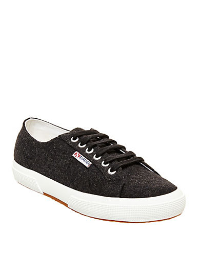 Buy Wool-Blend Lace-Up Sneakers by Superga online