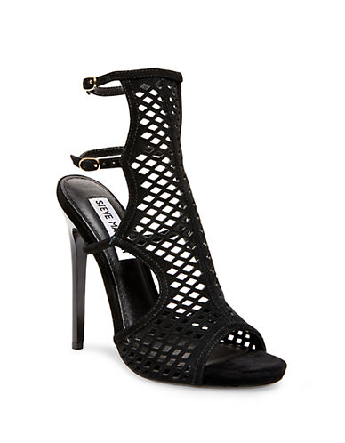 STEVE MADDENMaylin Suede Cage Sandals