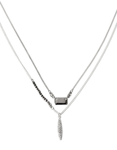 KENNETH COLE NEW YORKTwo Tiered Pendant Necklace