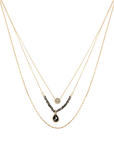 KENNETH COLE NEW YORKThree Tiered Pendant Necklace