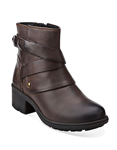 CLARKS Mansi Calla Leather Boots
