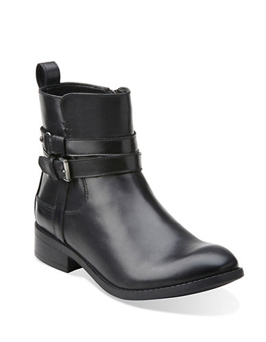CLARKSPita Austin Leather Ankle Boots