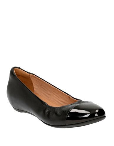 Buy Alitay Susan Cap Toe Slip-Ons by Clarks online