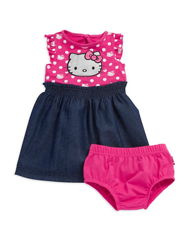 HELLO KITTYBaby Girls Hello Kitty Chambray Dress