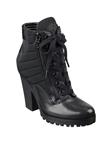 GUESSChady Leather Booties