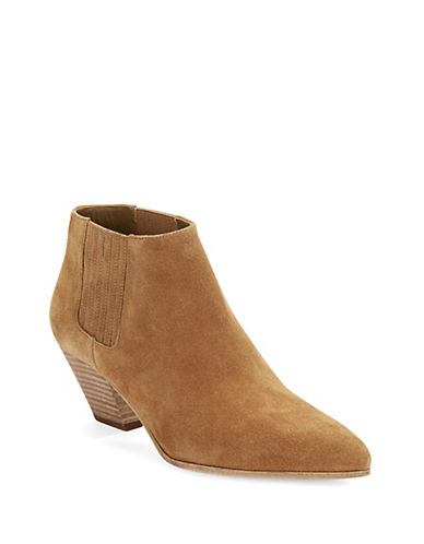 Buy Theo Suede Booties by Michael Kors Collection online