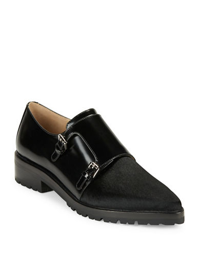 MICHAEL KORS Judd Calf Hair and Leather Loafers